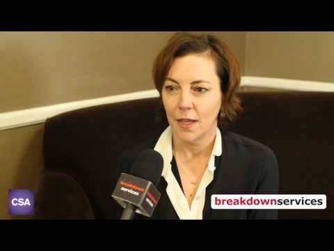 Breakdown Services s Nina Gold at the 2016 Artios Awards