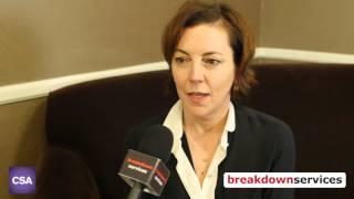 Breakdown Services Interviews Nina Gold at the 2016 Artios Awards