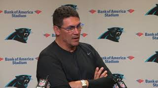 Ron Rivera Discusses Importance Of Team's Mental Health | Carolina Panthers