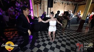 Shaan & Jessica Quiles Hernandez - Salsa Social Dancing | Salsa Sunrise Party 2019