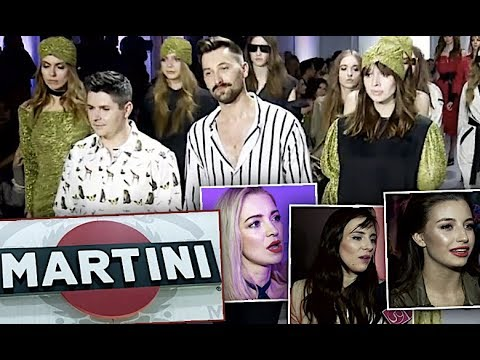 Gwiazdy popijają Martini i komentują kolekcję Thecadess na wiosnę i lato