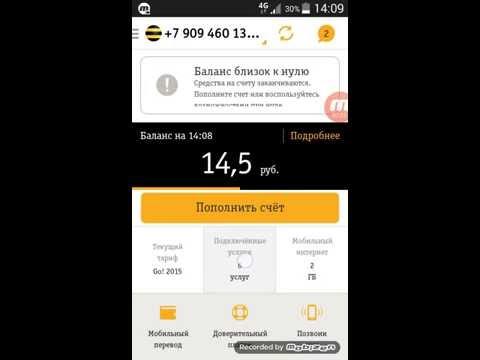 Безлимитный и бесплатный интернет 4G Билайн