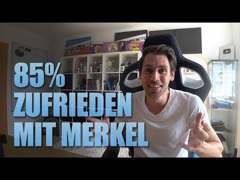 85% finden Merkel und ihre Arbeit gut 😂GEZ Erhöhung wird gestoppt?
