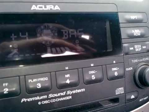 Acura TSX Stock Sound System Test Subwooferspeakers YouTube - Acura tsx speakers