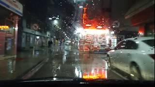yağmurlu hava gezmeler arabalar otomobiller