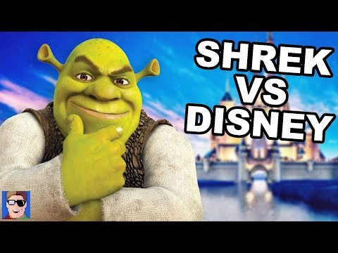 Shrek Vs Disney