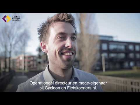 Nick Vreeswijk - Cycloon Post & Fietskoeriers.nl - Finalist JLT