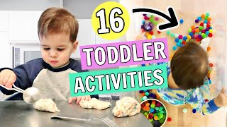 16 Toddler Activities You Can Do At Home | 1 2 Year Olds