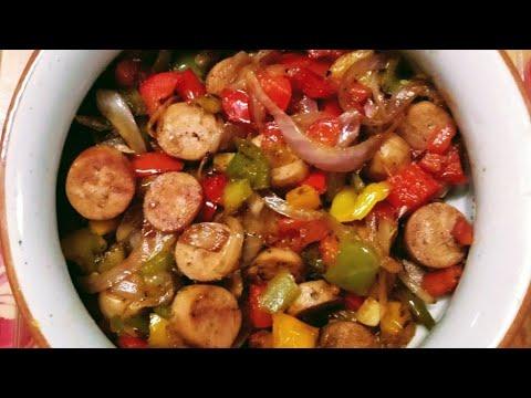 Chicken Sausage Recipe Indian | Easy Chicken Sausage Recipe | Chicken Sausage Homemade |