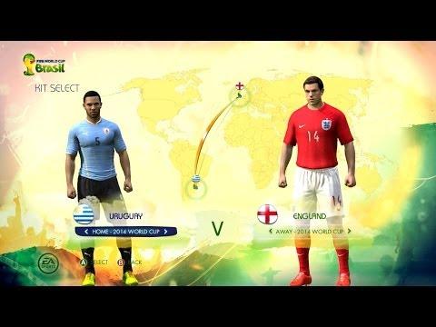 Uruguay v England: World Cup simulator