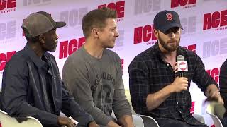Chris Evans, Don Cheadle, & Jeremy Renner: Avengers Assemble