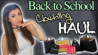 Back to School: Clothing Haul 2014 + GIVEAWAY!!! Thumbnail
