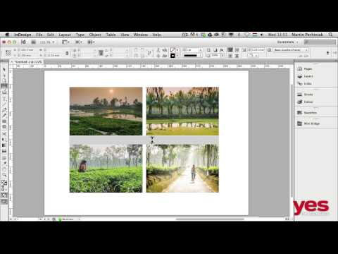 The Gap Tool In InDesign