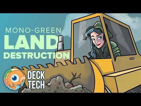 Instant Deck Tech: Mono-Green Land Destruction (Modern)