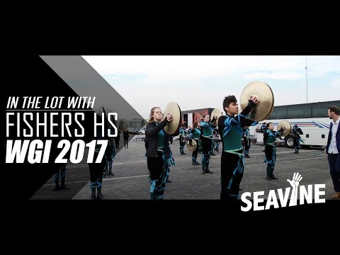 Fishers High School Cymbal Line 2017 Finals- In the Lot with Seavine