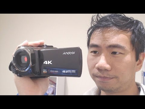 Andoer 4K 48MP Handheld Video Camera Camcoder Review