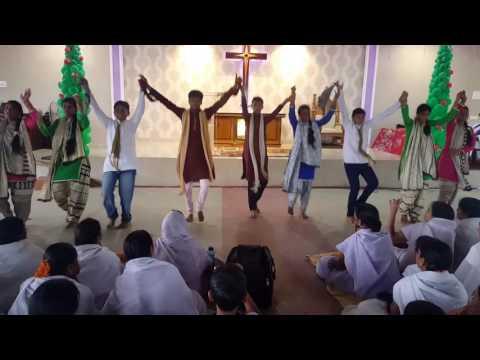 Priya yesu 2016 Dance at Calvary Mahima Swathatashala Tadepalligudem