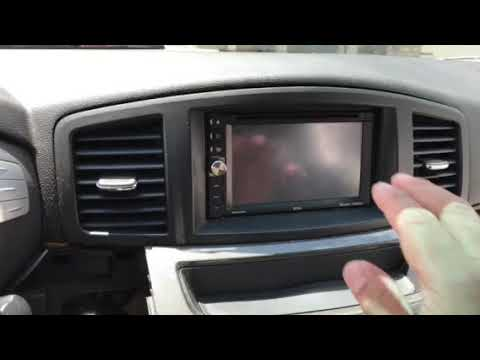 2012 NISSAN QUEST RADIO Installation 3-4