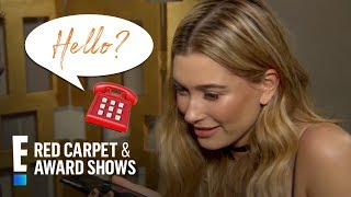 Hailey Baldwin Prank Calls BFF Kendall Jenner | E! Red Carpet & Award Shows
