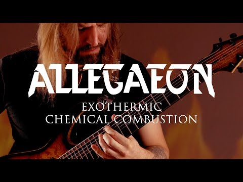 "Allegaeon ""Exothermic Chemical Combustion"" (Guitar Playthrough)"
