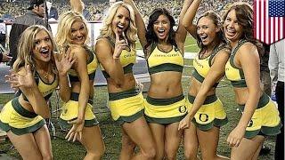 Certains pensent que les pom-pom girls de l'université de l'Oregon, sont trop chaudes. Et vous?