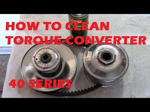 40 Series Torque Converter Maintenance - KartFab com
