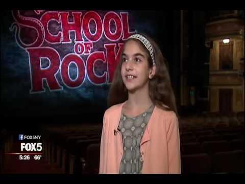 11-year old Ava Della Pietra - FOX 5 News Interview - October 5, 2016