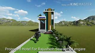 3D Walkthrough | 3D Design | Hotel | Civil Engineering | #Sketchup #Lumion Exterior Design