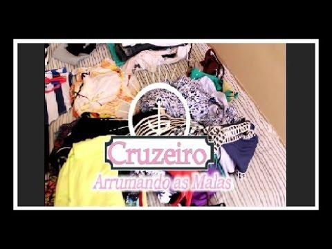 0cdb70ec14 Arrumando as malas pro cruzeiro Msc Preziosa!!! - YouTube