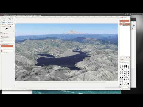 Changes to Spirit Lake, Mt Saint Helens WA