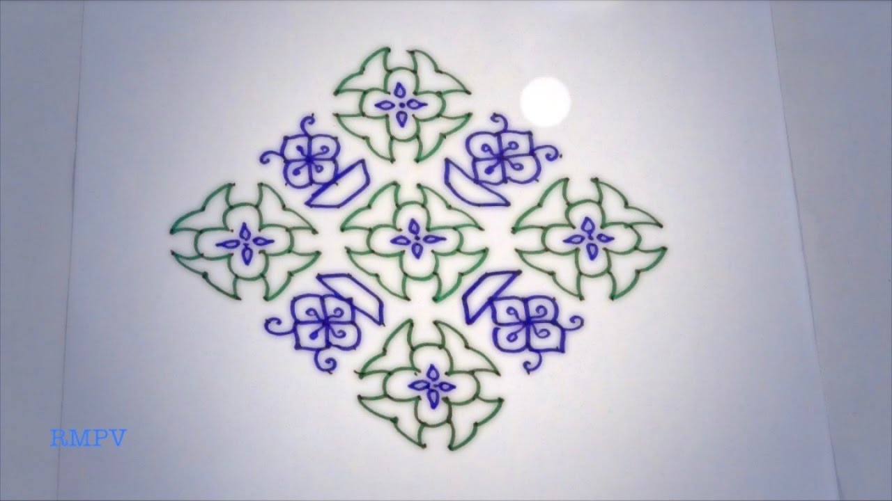 Awesome Rangoli Designs For Home Images - Home Decorating Ideas ...