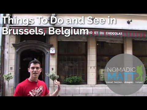 Things to Do and See in Brussels, Belgium