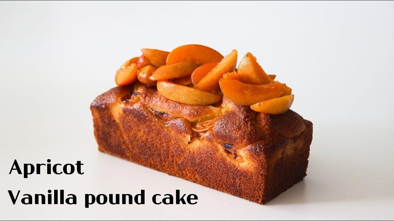 Sub) 완전 간단하고 촉촉 부드러운  살구 파운드 케이크 : Easy apricot pound cake  │Brechel