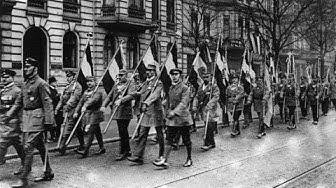 Keisarikunnan aikaisen lipun alla edennyt Saksa vuosina 1933-1945 🇩🇪