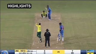 Highlights Ind Vs SA 2nd T20: Team India Won By 7 Wickets, Watch It | Headlines Sports