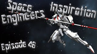Space Engineers Inspiration - Episode 46: Nova Yacht, Condor, & 17shiki Morito