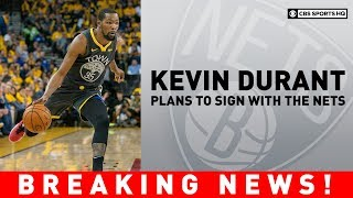 Kevin Durant plans to sign with the Brooklyn Nets | Breaking News | CBS Sports HQ