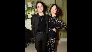 Charlie Heaton attends Vogue bash with his sister Levi