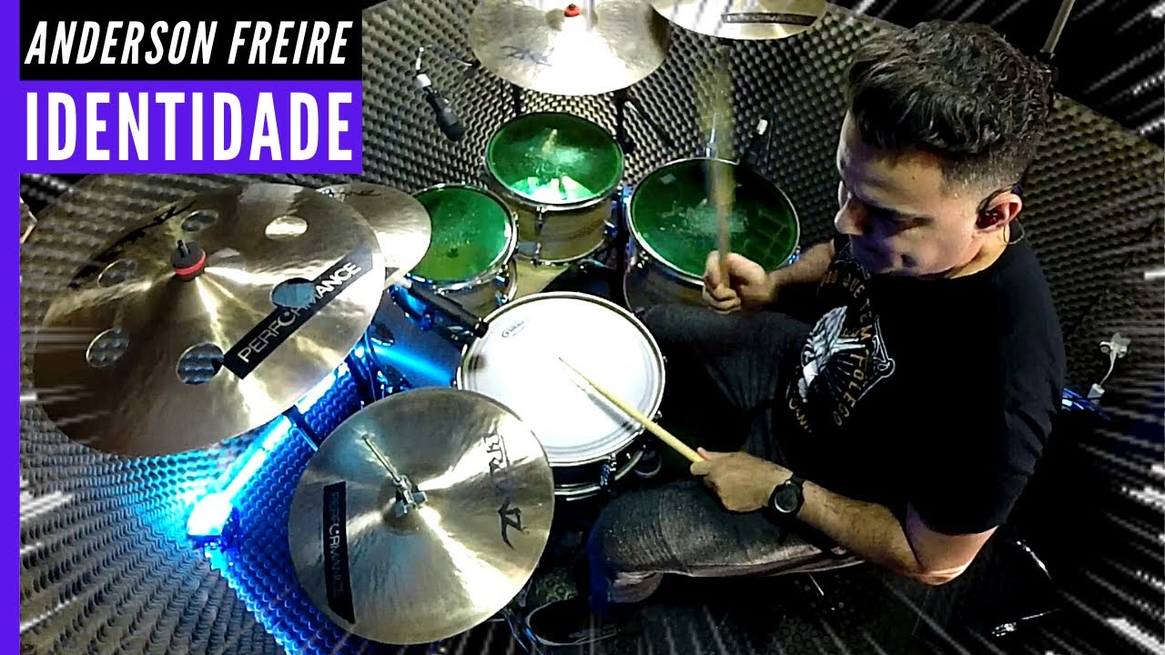 IDENTIDADE - ANDERSON FREIRE - DRUM COVER