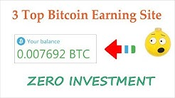 Top 3 Free Bitcoin Earning Sites 2019 | Earn Daily 0.01 BTC Live Withdrawal Payment Proof Urdu Hindi