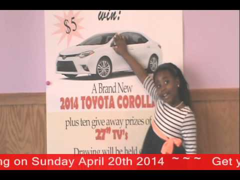 Glory House World Church Car Raffle   Favor promo