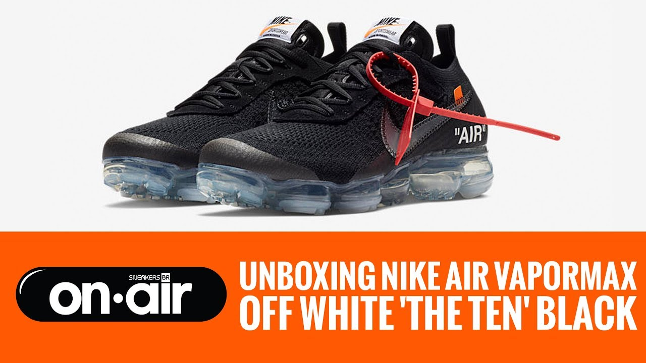 376369f0a7d65 61 - Unboxing Nike Air Vapormax OFF WHITE  The Ten  2018  piranomeuair