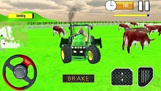 Mega Tractor Simulator Game for Kids - Farmer Life - Android gameplay