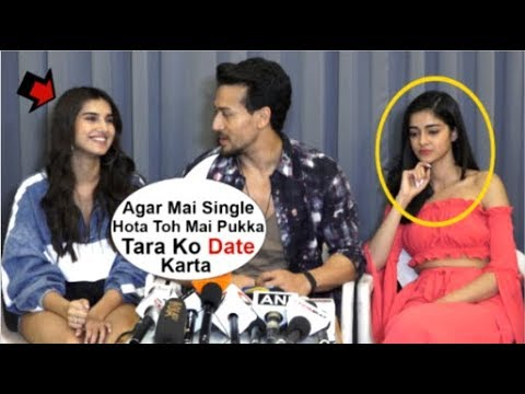 Tiger Shroff FLIRTS With Tara Sutaria In Front Of Ananya Panday At Student Of The Year 2 Promotions