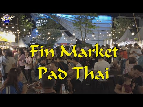 Fin Market At Central Floresta And Pad Thai Restaurant Phuket Town