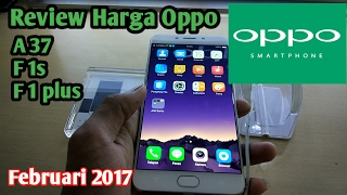 Review Harga Oppo Smartphone  | Februari 2017