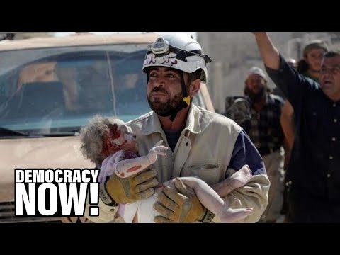 The White Helmets: As Syria Death Toll Mounts, Meet the Rescue Workers Saving Thousands of Lives