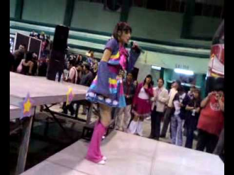 Nubia Mashushe y klavita -  en concierto - expo comics tampico 2008 - video 3