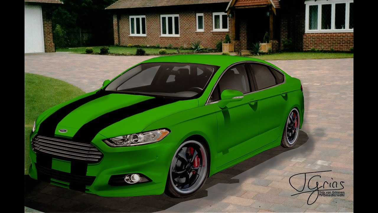 ford fusion 2013 virtual tuning youtube. Black Bedroom Furniture Sets. Home Design Ideas