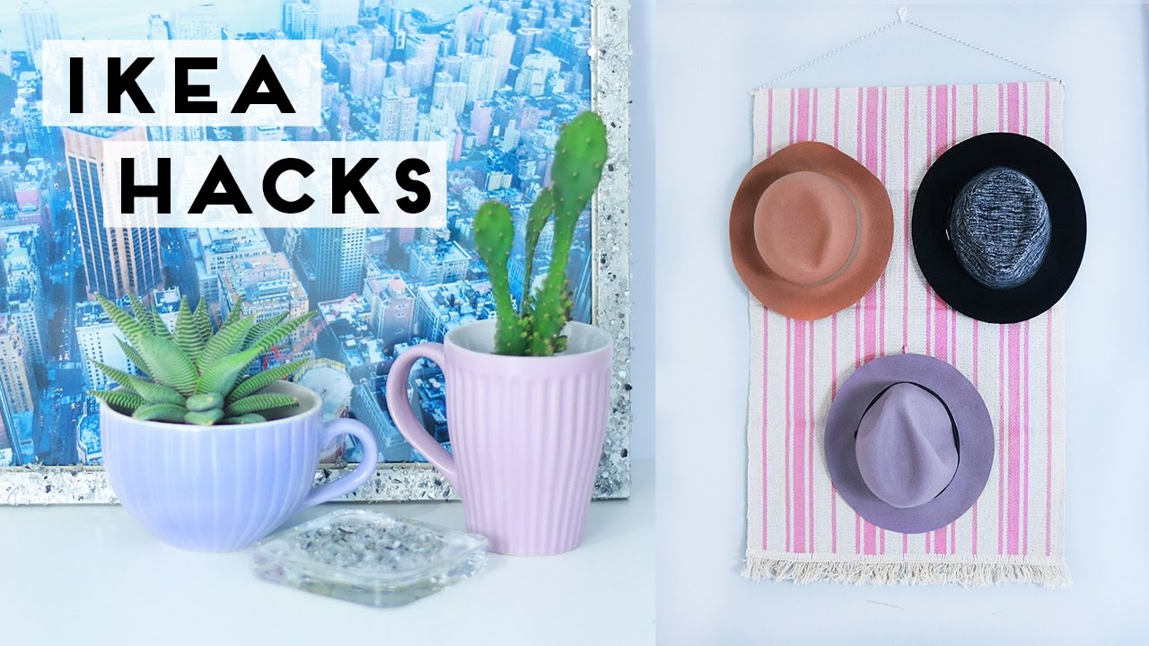 Ikea Hacks And Diy Room Decor And Home Decoration Ideas Youtube